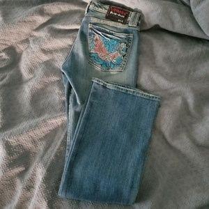 Vigoss Mary-Lynne rigid bootcut jeans